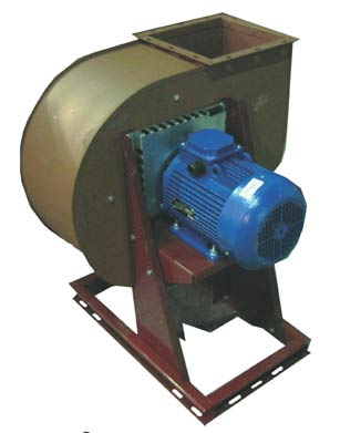 Smoke removal centrifugal fans